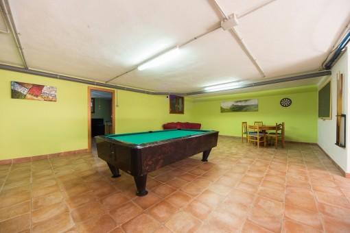 Habitación de billiard