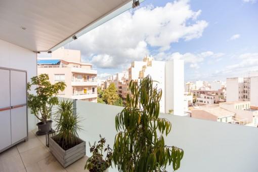 Balcón con vistas sobre Palma