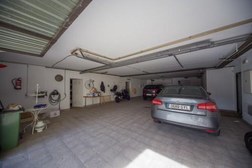 Garaje de la propiedad