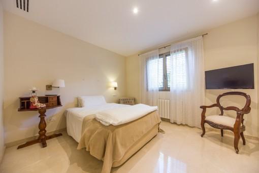 Dormitorio para huespédes
