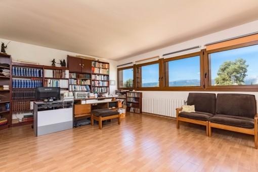 Oficina con vistas panorámicas