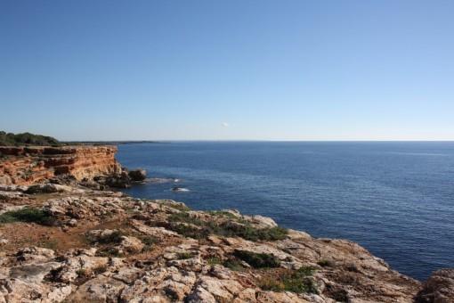 Vistas al mar mediterráneo