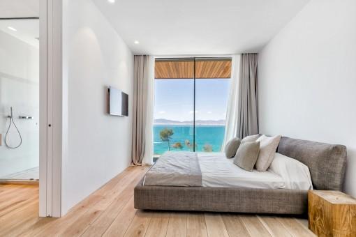 Dormitorio muy confortable con baño en suite