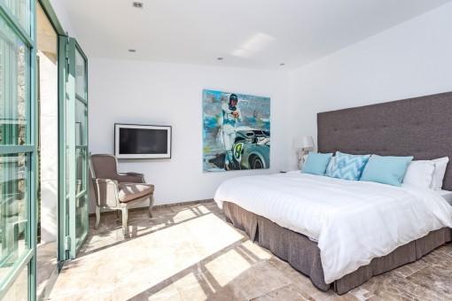 Dormitorio soleado