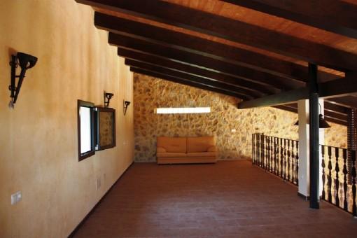 Primera planta abierta, ideal para un dormitorio