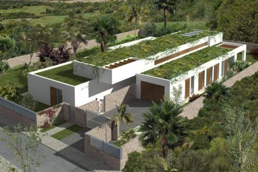 Villa amplia con azetoa