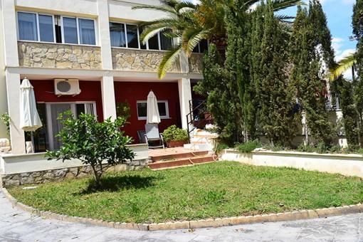 Vista exterior de la villa
