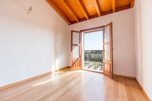 Domritorio con ventanas panorámicas