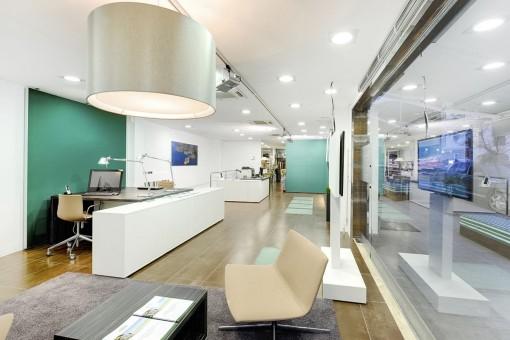 Magnífico y moderno diseño del interior