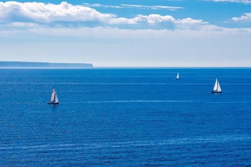 Vistas hermosas al mar desde el apartamento