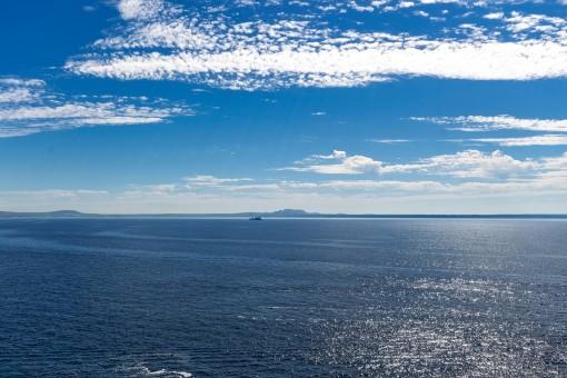 Vistas sobre el mar mediterráneo
