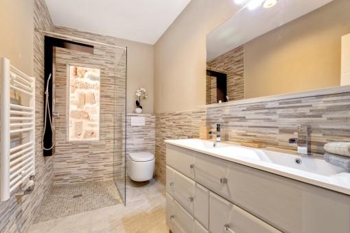 Uno de los 4 baños