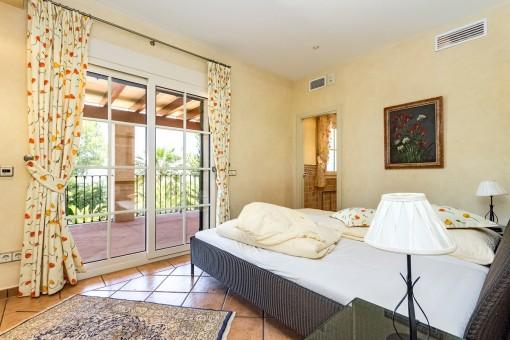 Baño con balcón