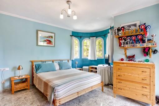 Uno de cinco dormitorios