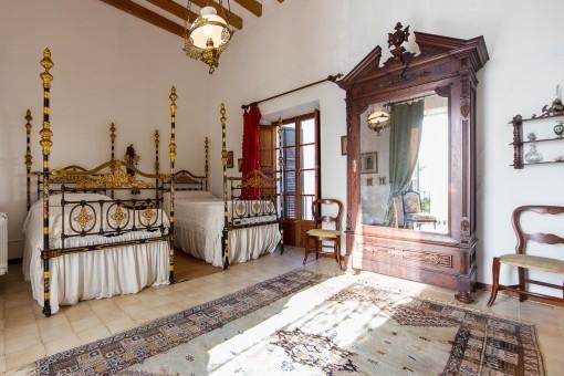 Dormitorio magnífico