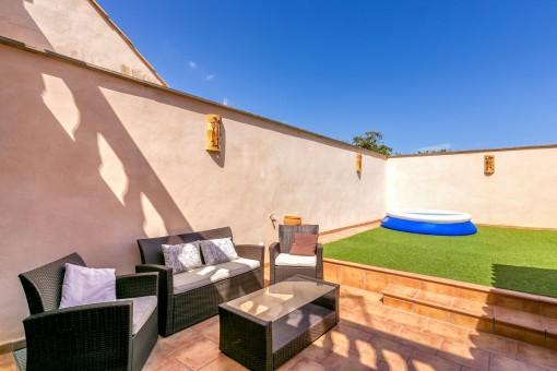 Moderna Y Luminosa Casa De Pueblo Con Patio En Llucmajor Comprar
