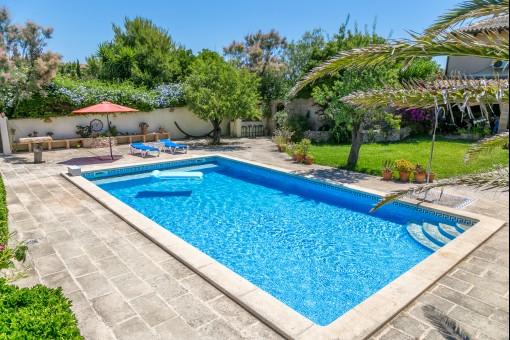Finca capdepera venta fincas en capdepera mallorca for Hoteles en mallorca con piscina climatizada
