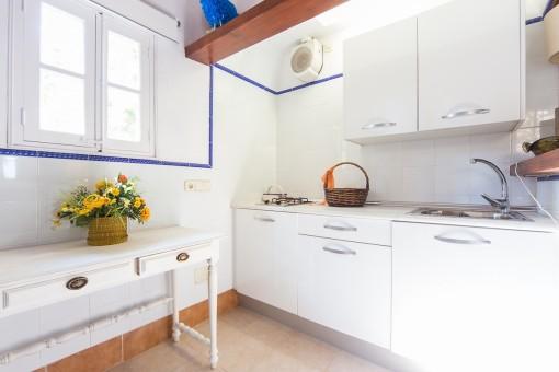 Una cocina de las casas de invitados