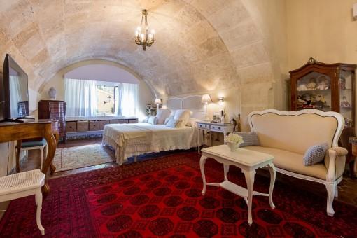 Majestuoso dormitorio principal