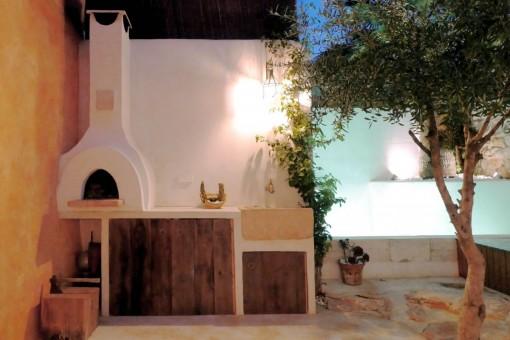 Preciosa casa de pueblo recientemente reformada en el corazón de Santanyí