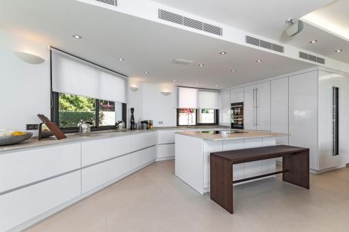 Moderna cocina de diseño