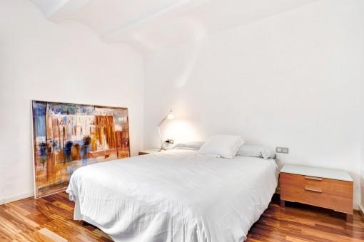 Dormitorio doble agradable
