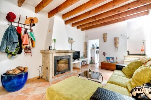 Encantadora casa de pueblo en Ses Salines