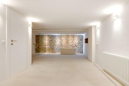 Spa exclusivo en el sótano