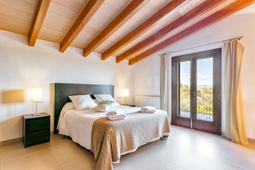 Dormitorio en la planta superior
