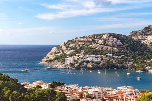 Vistas al mar mediterráneo impresionantes