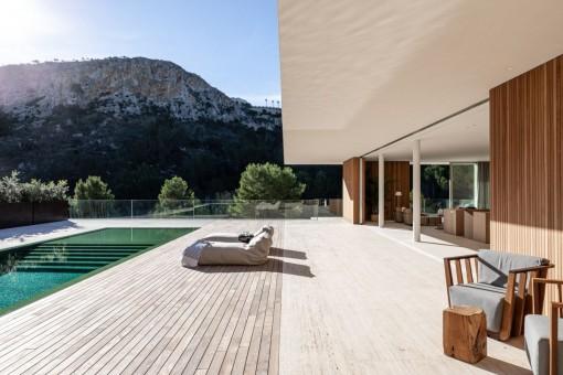 Gran terraza privada
