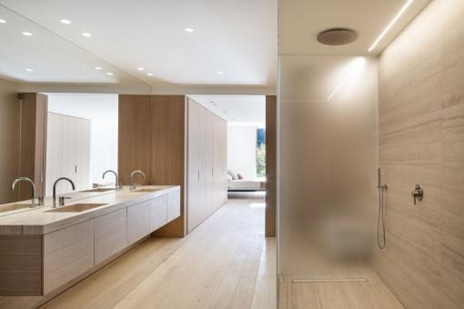Lujoso baño en suite