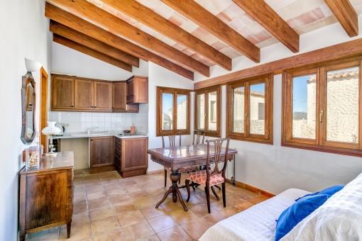 Apartamento de huéspedes separado con cocina
