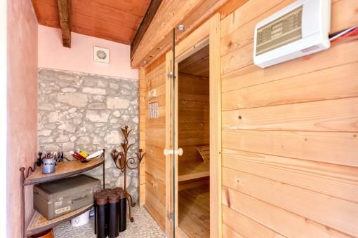 Spa con sauna