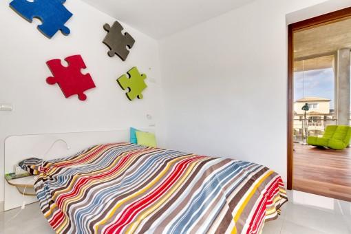 Un otro dormitorio en la planta superior