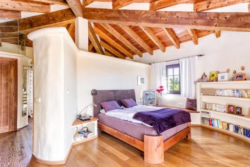 Dormitorio principal encantador