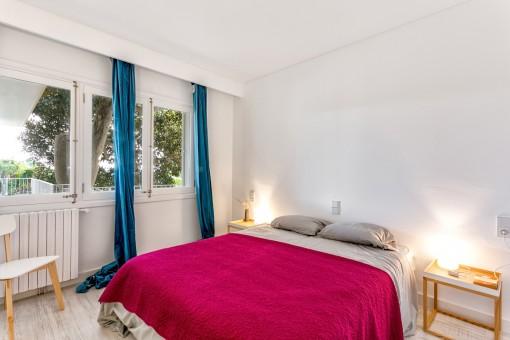 La finca ofrece 4 dormitorios