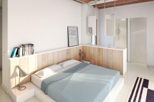 El apartamento ofrece 3 dormitorios