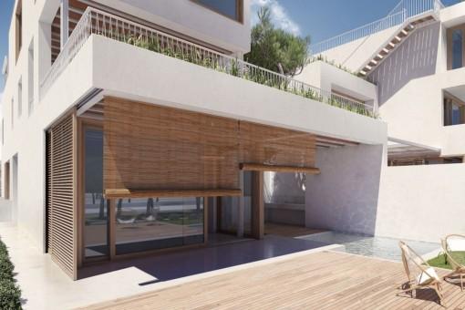 Apartamento de dos plantas en Colonia St.Jordi