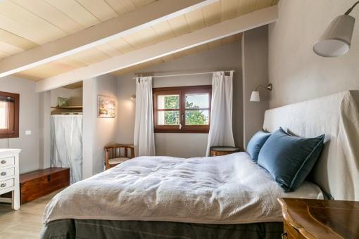 Encantador dormitorio doble