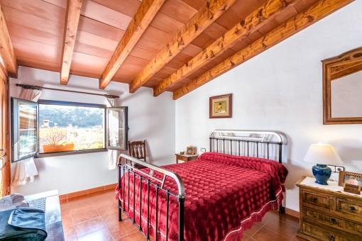 Dormitorio principal con vistas maravillosas