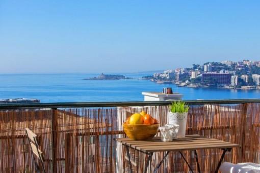Apartamento de ensueño con unas fantásticas vistas al mar en Cala Major