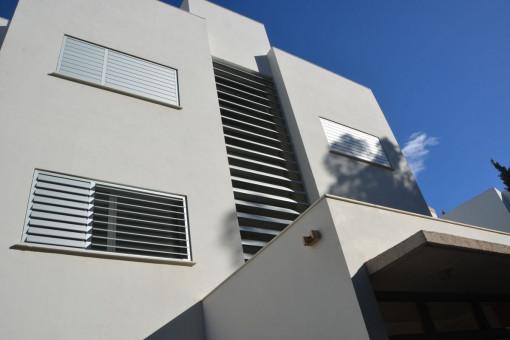 Vistas exteriores de la propiedad