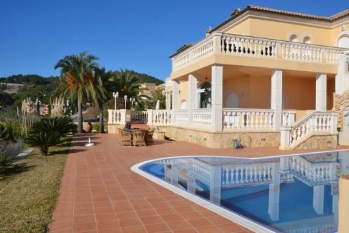 Villa en Camp de Mar para alquiler