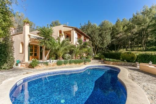 Villa acogedora y de buen gusto en Son Vida
