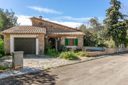 Gran casa con buenas vistas de Valldemossa