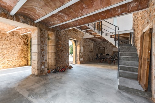 Otra vivienda con amplio espacio para el salón-comedor