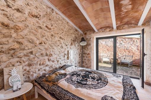 Dormitorio doble en la planta superior
