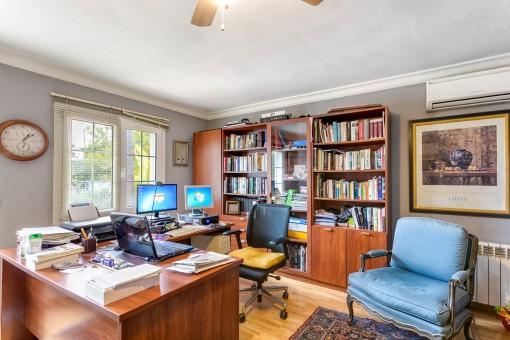Despacho práctico de la villa