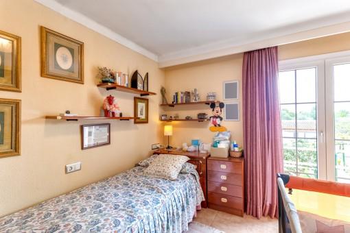 Dormitorio de huéspedes de la villa